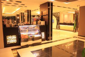 The lobby or reception area at Ramz Al Fakhamah