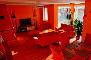 Posezení v ubytování Apartmány Riviéra - Liptov Bešeňová