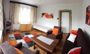 O zonă de relaxare la Apartment Janka Demanova