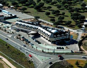 Hotel FC Villalba с высоты птичьего полета
