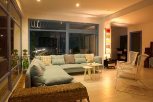 A seating area at Casa Biota Boutique (Adult Only)
