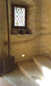 A bathroom at Château de Chanzé