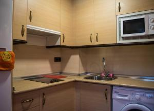 Una cocina o zona de cocina en Apartamentos Turisticos Graus