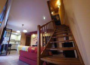 Litera o literas de una habitación en Apartamentos Turisticos Graus