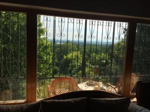 Výhľad z chaty v prírode