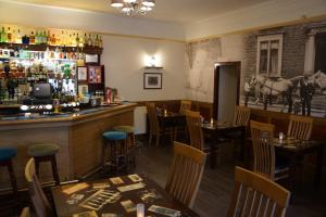 The lounge or bar area at Buccleuch Arms Hotel
