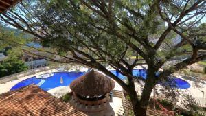 Uma vista da piscina em Hotel Mantovani ou nos arredores