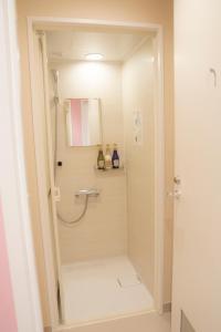 A bathroom at Akihabara Bay Hotel (Female Only)