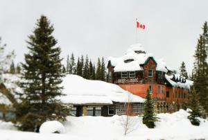 Deer Lodge during the winter