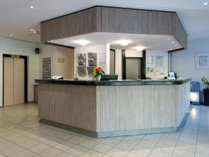 The lobby or reception area at ACHAT Hotel Frankfurt Airport