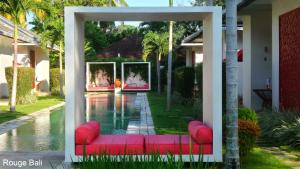 A patio or other outdoor area at Rouge - Villas & Spa