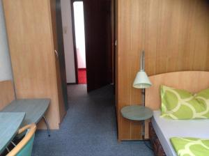 Ein Sitzbereich in der Unterkunft Landhotel Zum Rautenkranz