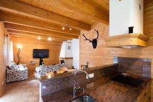 The lounge or bar area at W & S Executive Apartments - Hallstatt II