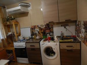 Кухня или мини-кухня в Apartment Gagarina 32