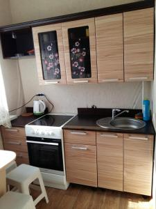Кухня или мини-кухня в Аmto Mil'kovo