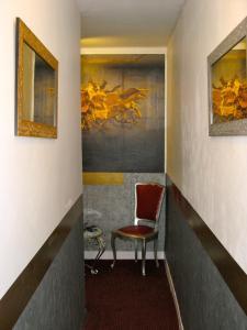Salon ou bar de l'établissement Résidence Longchamp