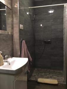 A bathroom at Kawalerka Fredry 3/12