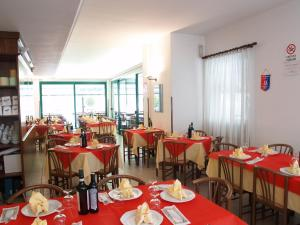 A restaurant or other place to eat at Villa Emma