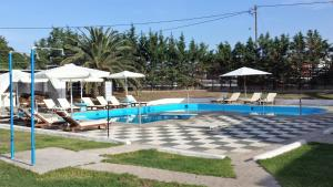 Πισίνα στο ή κοντά στο Ξενοδοχείο Μελικάρι