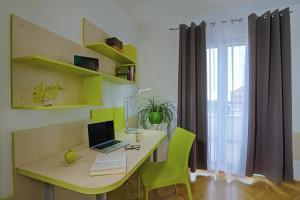 TV o dispositivi per l'intrattenimento presso Hostel Villa Gloriet