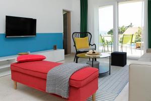 Posezení v ubytování Vacation Home Villa Oleandra