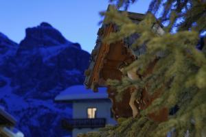Alpin Apartments Colfosco during the winter