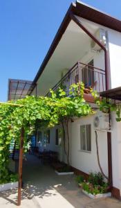 Патио или другая зона на открытом воздухе в Guest House Uyutniy Dvorik