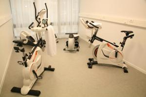 Salle ou équipements de sports de l'établissement Néméa Appart hotel Nancy Home Suite