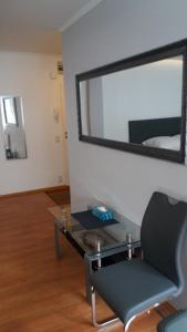A seating area at Apartament Sophie