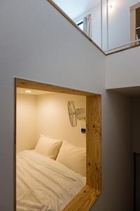 スマイル ステイ 東京にあるベッド