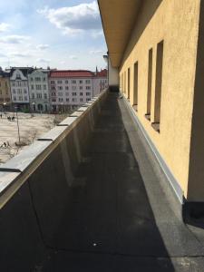 Balkón nebo terasa v ubytování Studio Ostrava - Masarykovo náměstí