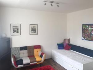 Lounge nebo bar v ubytování Studio Ostrava - Masarykovo náměstí