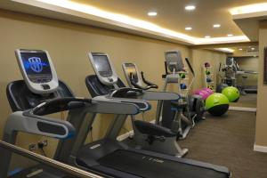The fitness center and/or fitness facilities at Donnington Manor Hotel