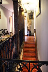 El vestíbulo o zona de recepción de Casa de Aldea El Valle