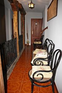 Zona de estar de Casa de Aldea El Valle