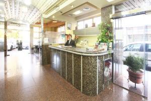 The lobby or reception area at El Cisne