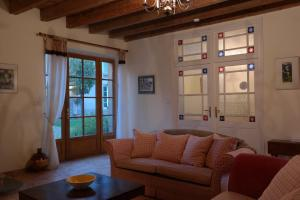 A seating area at The Cottage, Clos des Archers