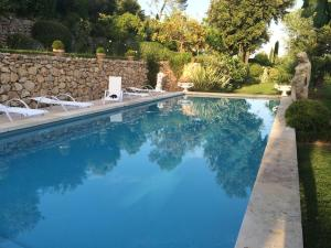 The swimming pool at or near La bastide des anges