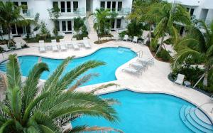 A view of the pool at Santa Maria Suites Resort or nearby