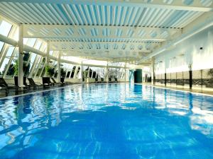 The swimming pool at or near Macdonald Portal Hotel, Golf & Spa Cobblers Cross, Cheshire