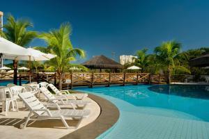 The swimming pool at or near Best Western Suites Le Jardin Caldas Novas
