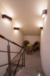 Łóżko lub łóżka piętrowe w pokoju w obiekcie Villa Nova 34A