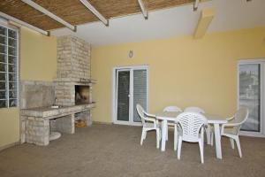 A porch or other outdoor area at Apartments Jasmina