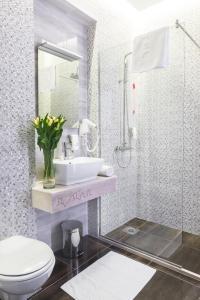 Ванная комната в Hotel Theater Belgrade