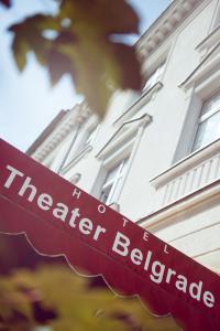 Сертификат, награда, вывеска или другой документ, выставленный в Hotel Theater Belgrade