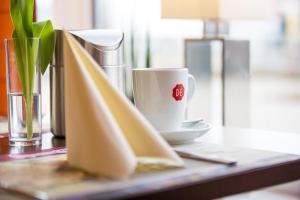 Kaffee-/Teezubehör in der Unterkunft Montana-Hotel Ellwangen