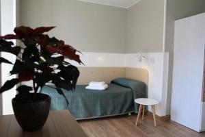 Cama o camas de una habitación en Errota Ostatua