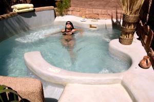 A piscina localizada em Hotel Kimal ou nos arredores