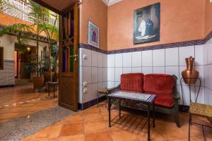 Lounge oder Bar in der Unterkunft Hotel Atlas