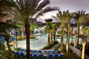 A view of the pool at Wyndham Grand Orlando Resort Bonnet Creek or nearby